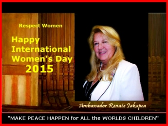 International Women's Day 2015 Ambassador Renate
