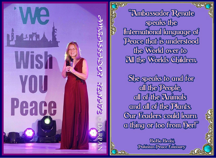 We wish You Peace and Iceality quote Ambassador Renate