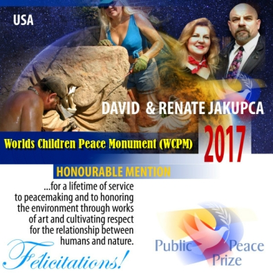 ambassador renate and david jakupca 2017 Peace Prize Iceality
